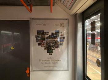 Královská dovolená v srdci Čech - inzerce v metru