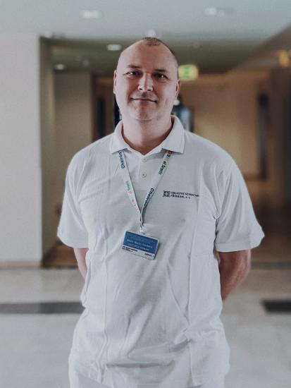 Anesteziolog Martin Čermák.